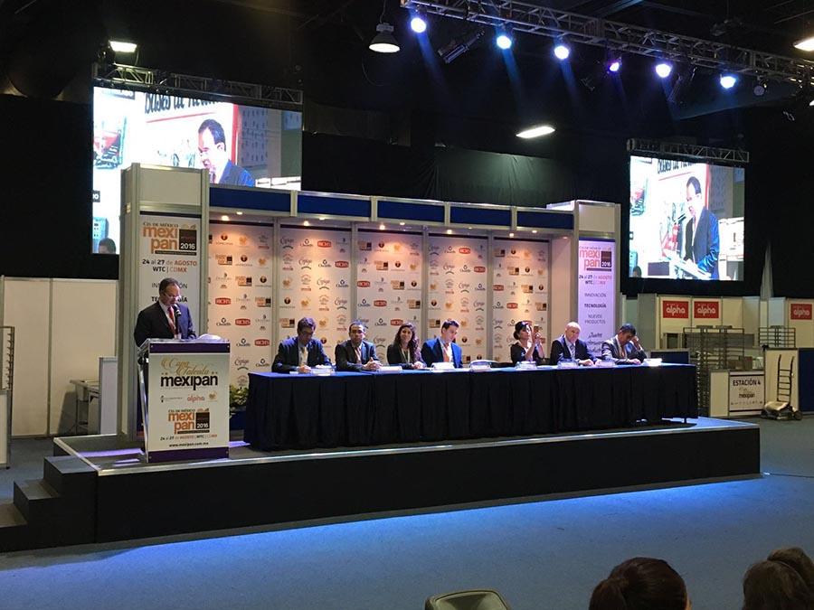 El acto de presentación e inicio de Mexipan 2016