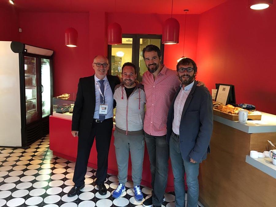 También tuvimos oportunidad de visitar Tout Chocolat de Luis Robledo Richards junto a Josep Maria Ribé