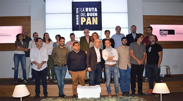 Ruta del Buen Pan Madrid 2016