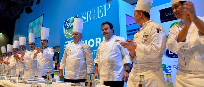 competición pastelera en Sigep