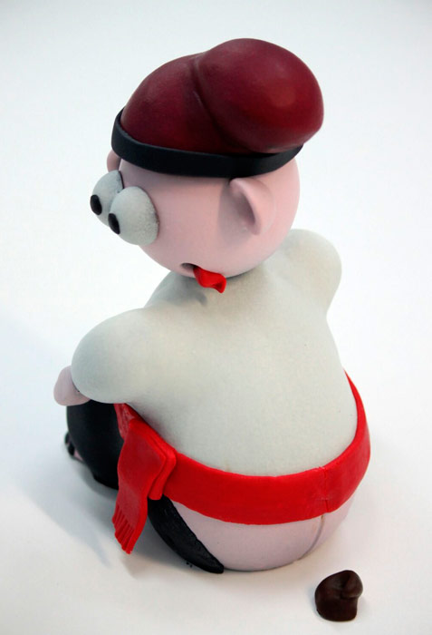 caganer chocolate de Marc Rodellas