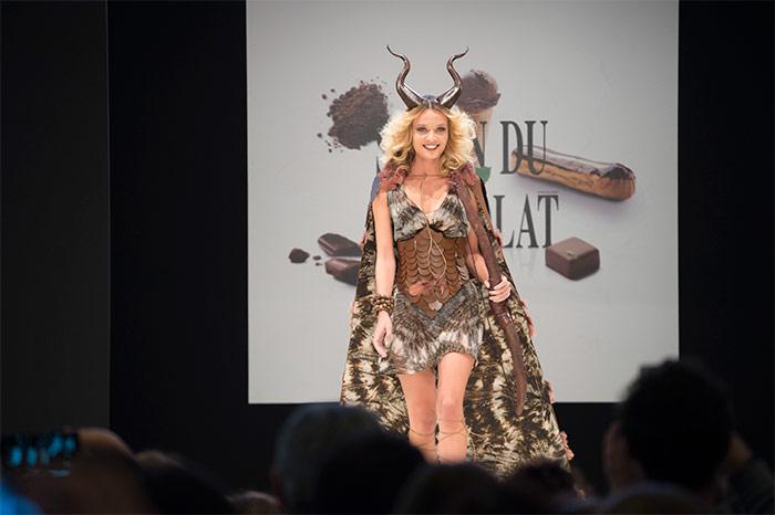 The Chocolate Fashion Show Salon du Chocolat Paris 2016