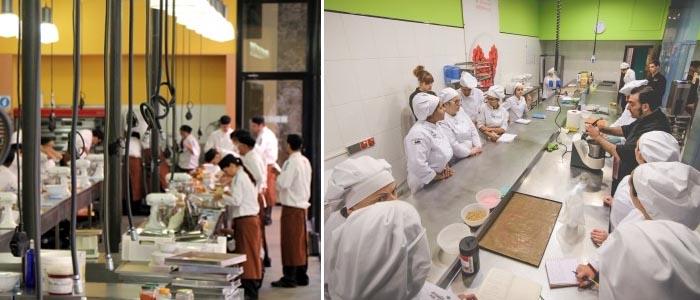 dos escuelas de pastelería, recurso