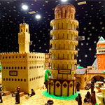 La torre de Pisa en Belén Rute