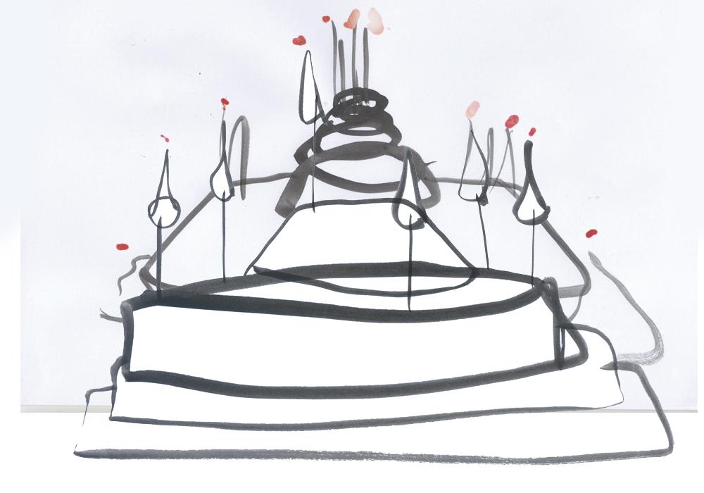 Ilustración concurso pasteles Intersicop