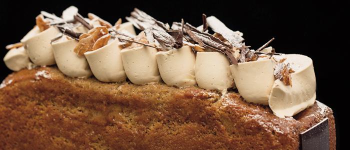 uno de los cakes que Hans Ovando presenta en este número