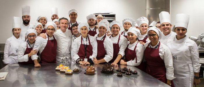 Yann Duytsche, chef invitado al máster de pastelería de la BCC