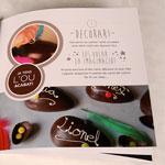 decoración kit huevo de chocolate