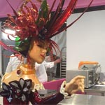La pieza de azúcar artístico de Japón