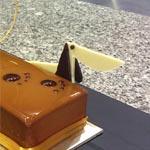 La simpática tarta de chocolate de Singapur