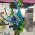 La figura artística en azúcar de Taiwan
