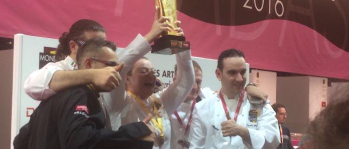 la victoria italiana en el Mundial de las Artes Dulces