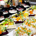 Bufet salado inauguración Gremi Mestres Sucres de Valencia