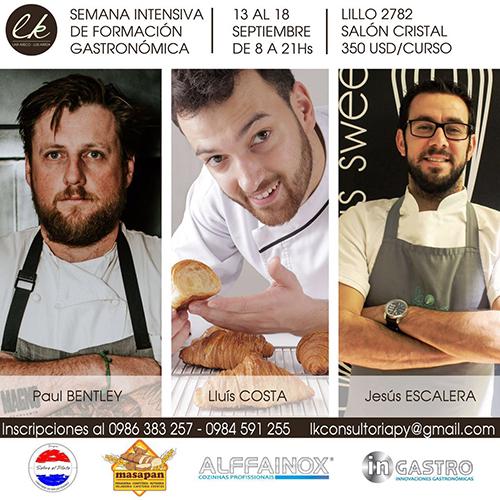Semana de formación gastronómica en LK Consultoría