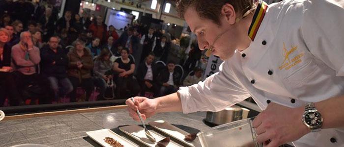clases magistrales en Salon du Chocolat