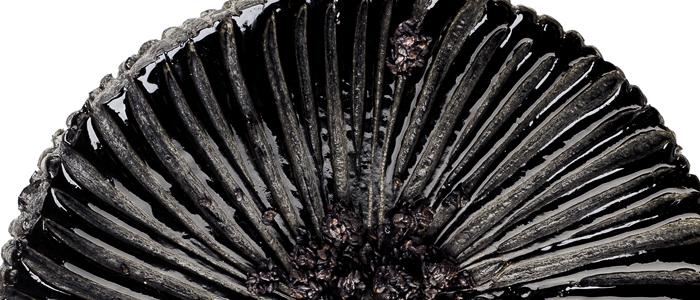 la galette de sésamo negro de Cédric Grolet
