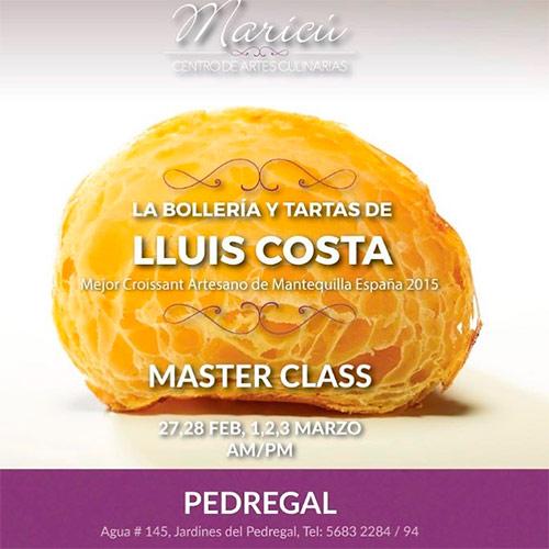 Masterclass Lluís Costa en Maricú