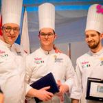 Equipo italiano, campeonato mundial de pastelería Junior Sigep