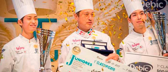 Japçon gana el Campeonato Mundial Pastelería Junior