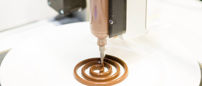 impresora de chocolate Callebaut