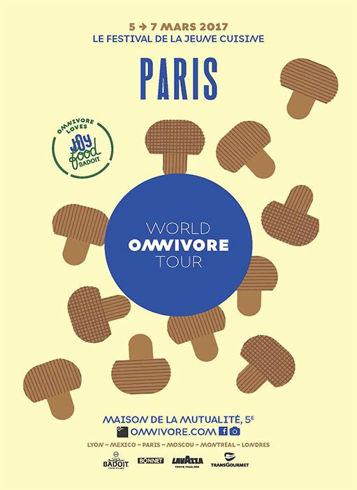 Cartel Omivore Paris 2017
