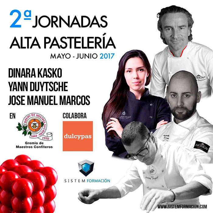 cartel 2ª jornada alta pastelería Valencia