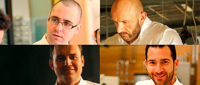 Collage Jordi Sempere, Jacob Torreblanca, Sergi Vela y David Pallàs