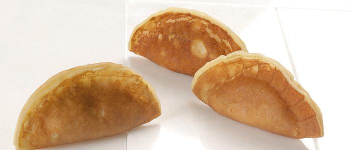 Jose Romero, empanadillas de crèpes con relleno de caprese