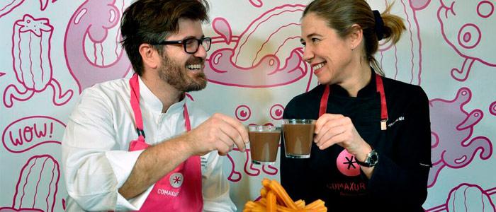 Lluís Estrada y Ada Parellada