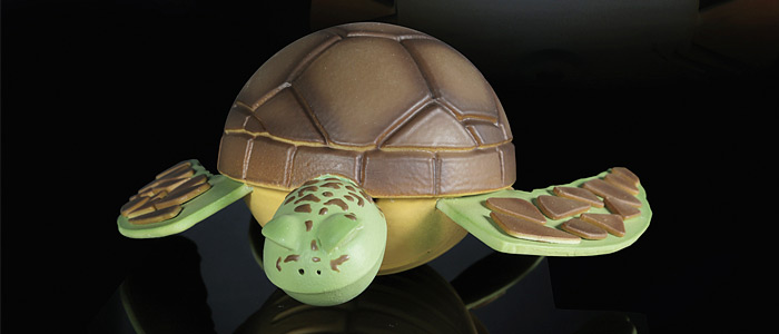 Tortuga, colección Pascua 2017 de Saray Ruiz