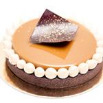 Tarta avellana y chocolate con leche de Antonio Bachour