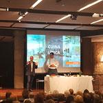 Presentación de Jaume Biarnés en La Pedrera