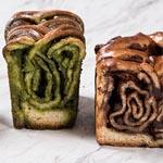 Los cakes Bubka están disponibles con chocolate y con té Matcha