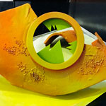 barco pintando de medusa de chocolate de Sergi Vela