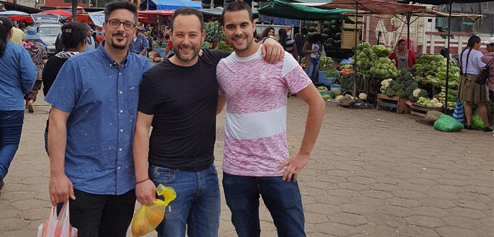 Farrés, Ribé y Gil en Bolivia