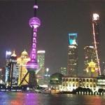 Vistas nocturnas de Shanghai