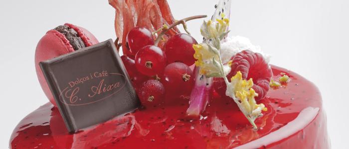 Tarta Tropic de Eliseo Valls, pastelería C Aixa
