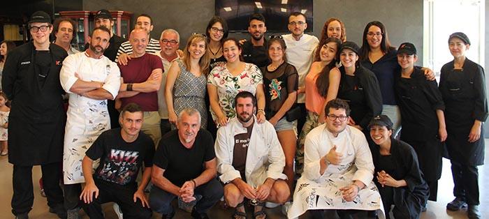 nueva hornada de titulados en pastelería en la Escuela Torreblanca
