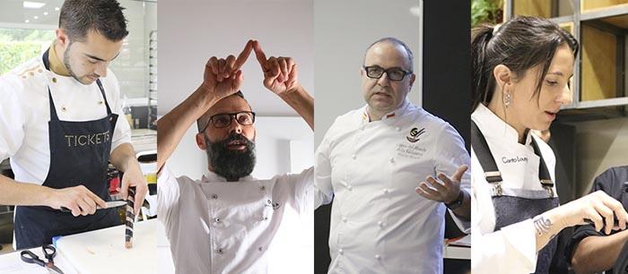 Los profesores externos del master de pastelería de GASMA