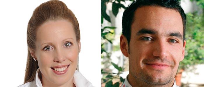 Marike van Beurden y Julien Álvarez