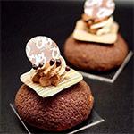 choux vainilla y chocolate de Carles Mampel
