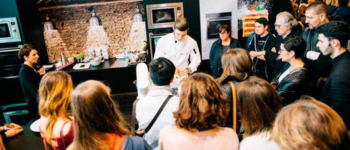 demostraciones Salon du Chocolat 2017