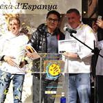 Entrega premio a Oriol Balaguer, mejor Panettone