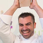 Ivan Pascual alza el trofeo de Spanish Chocolate Masters