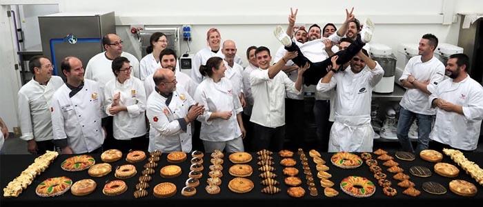 Foto de grupo en el final del curso de Yohan Ferrant