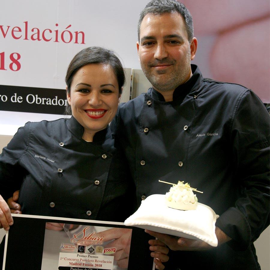 Alexis García vencedor en la categoría obrador