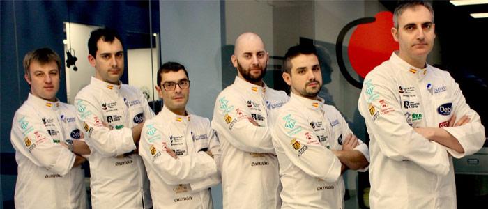 equipo español copa del mundo de la heladería