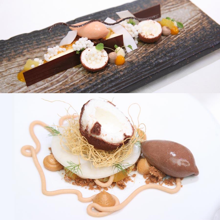 Los platos finalistas de Fran Segura y Vitor de Castro