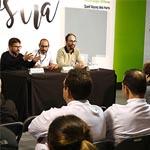 Tuvimos la oportunidad de participar en el acto de clausura junto a Josep Sucarrats y Eugeni Muñoz