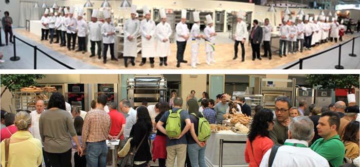 Imágenes de archivo de la UIBC y del Certamen de Panadería de Valencia